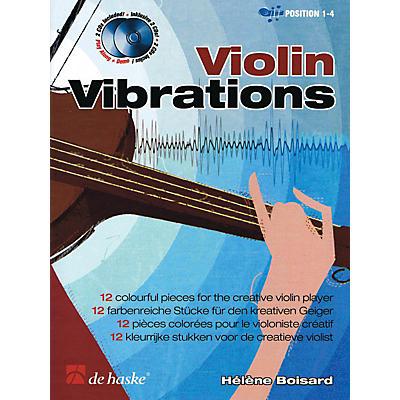 De Haske Music Violin Vibrations (12 Colorful Pieces for the Creative Violin Player) De Haske Play-Along Book Series