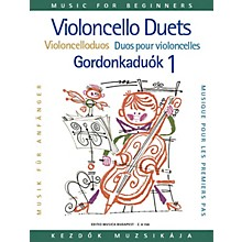 Editio Musica Budapest Violoncello Duos for Beginners - Volume 1 EMB Series Composed by Arpad Pejtsik