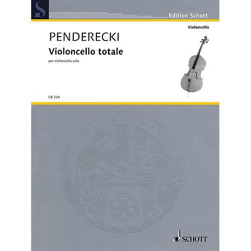 Schott Violoncello Totale (Cello Solo) String Series Softcover