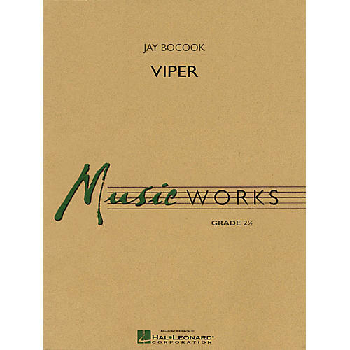 Hal Leonard Viper Concert Band Level 2.5 Composed by Jay Bocook