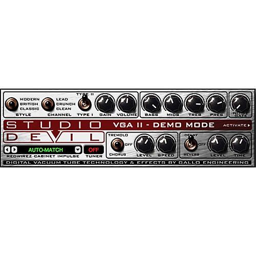 Studio Devil Virtual Guitar Amp II Software Download