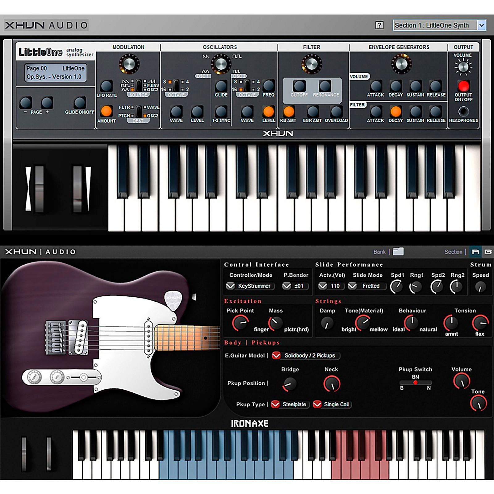XHUN Audio Virtual Instruments Bundle (Download)