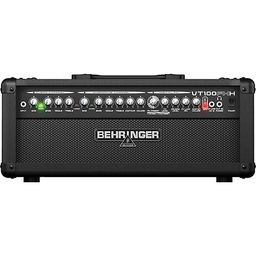behringer virtube vt100fxh 100w guitar amplifier head musician 39 s friend. Black Bedroom Furniture Sets. Home Design Ideas