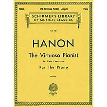 Hal Leonard Virtuoso Pianist in 60 Exercises - Complete