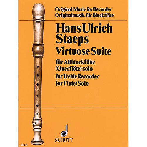 Schott Virtuoso Suite (for Treble Recorder) Schott Series