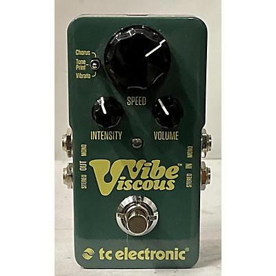 TC Electronic Viscous Vibe Univibe Effect Pedal