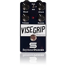 Open Box Seymour Duncan Vise Grip Compressor Guitar Effects Pedal