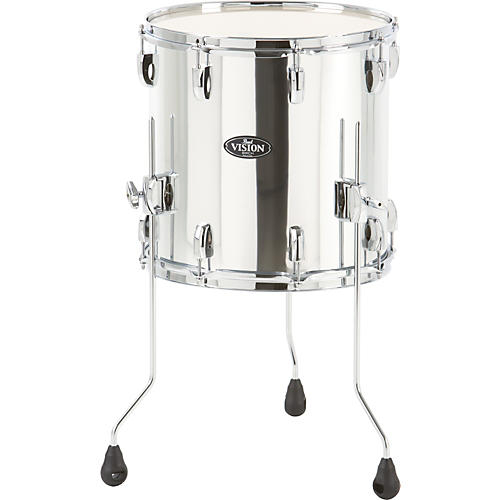 Pearl Vision Birch Floor Tom Mirror Chrome 14 x 14 in.