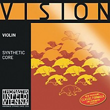 Vision Titanium Orchestra Violin Strings A, Aluminum Wound 4/4 Size