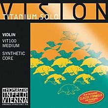 Vision Titanium Solo Violin Strings G, Titanium 4/4 Size