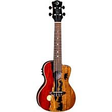 Luna Guitars Vista Bear Tropical Wood Concert Acoustic-Electric Ukulele