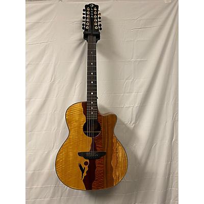 Luna Guitars Vista Eagle 12 12 String Acoustic Guitar