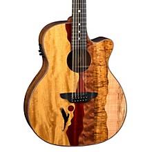 Open BoxLuna Guitars Vista Eagle 12-String Acoustic-Electric Guitar