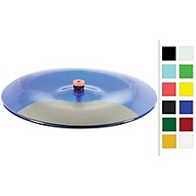 VisuLite Professional Single Zone China Cymbal 18 in. Fluorescent Blue