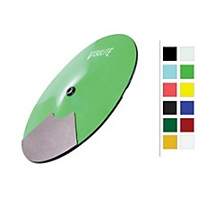 VisuLite Professional Single Zone Splash Cymbal 13 in. Fluorescent Green