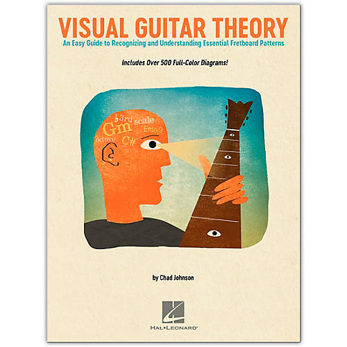 Hal Leonard Visual Guitar Theory - An Easy Guide to Recognizing and Understanding Essential Fretboard Patterns