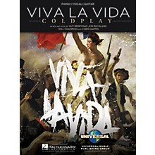 Hal Leonard Viva La Vida by Coldplay Arranged for Piano, Vocal and Guitar