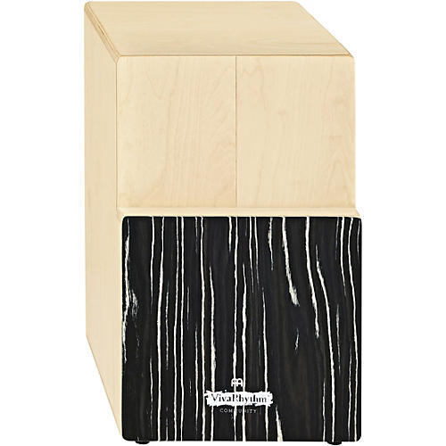 Meinl VivaRhythm Birch Wood Tri-Cajon Striped Onyx