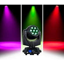 American DJ Vizi Hex Wash7 RGBAW+UV LED Moving Head Wash Beam with Zoom