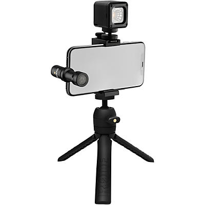 Rode Vlogger Kit for iOS Devices - Includes Tripod, MicroLED Light, VideoMic ME-L and Accessories