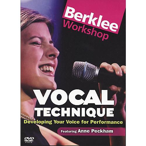 berklee press vocal technique for performance dvd musician 39 s friend. Black Bedroom Furniture Sets. Home Design Ideas