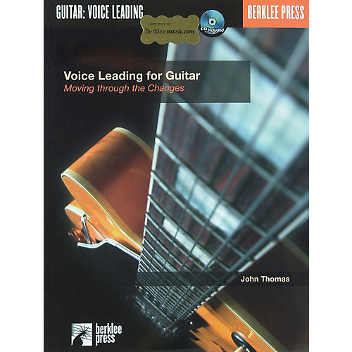 Berklee Press Voice Leading for Guitar (Book/CD)