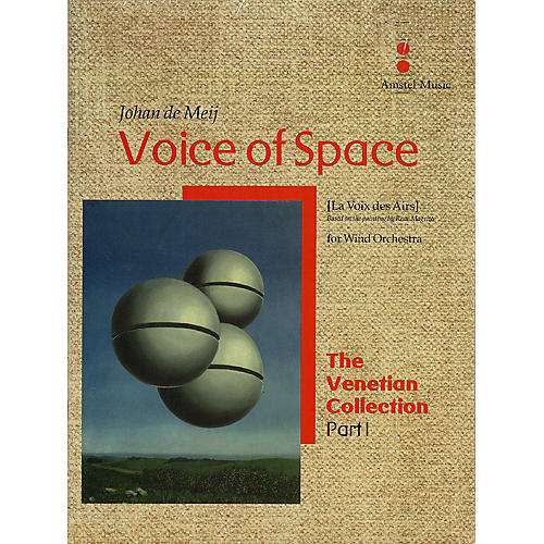 Amstel Music Voice of Space (La Voix des Airs) (The Venetian Collection) Concert Band Level 5 by Johan de Meij