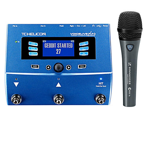 TC Helicon VoiceLive Play with Sennheiser e 835 FX