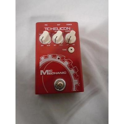 TC Helicon VoiceTone Mic Mechanic 2 Effect Pedal