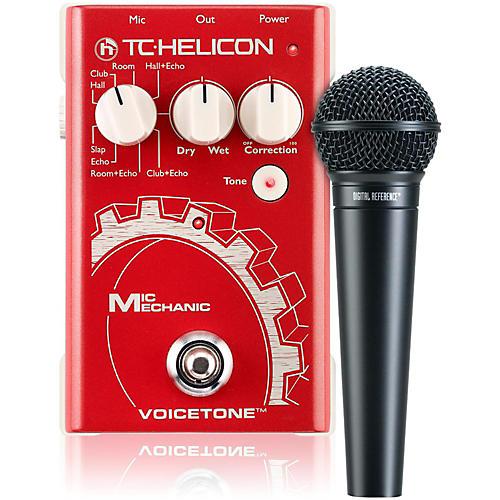 TC Helicon VoiceTone Mic Mechanic with DRV100 Mic Bundle