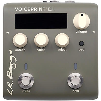 LR Baggs Voiceprint Acoustic DI with Voiceprint Technology EQ and Feedback Control