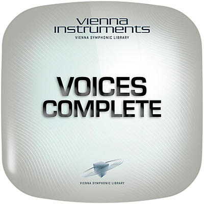Vienna Instruments Voices Complete Extended Library Software Download