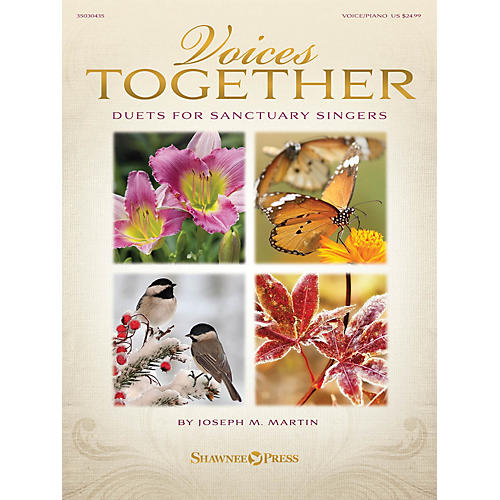 Shawnee Press Voices Together (Duets for Sanctuary Singers) Book and CD pak Composed by Joseph M. Martin