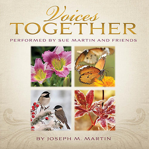Shawnee Press Voices Together (Duets for Sanctuary Singers) Listening CD composed by Joseph M. Martin
