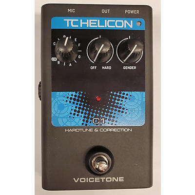 TC Helicon Voicetone C1 Vocal Processor