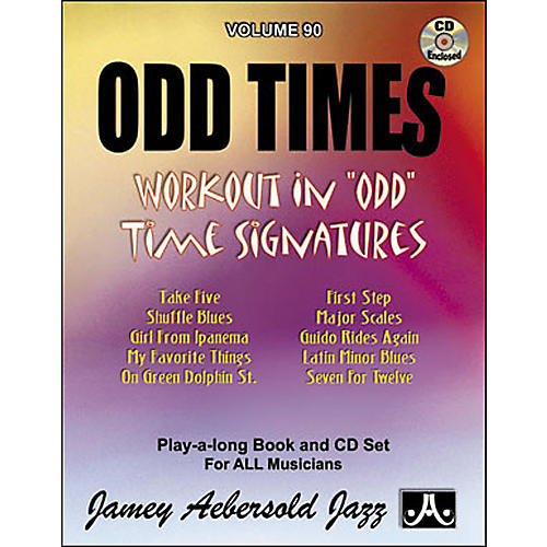 Jamey Aebersold (Vol. 90) Odd Times