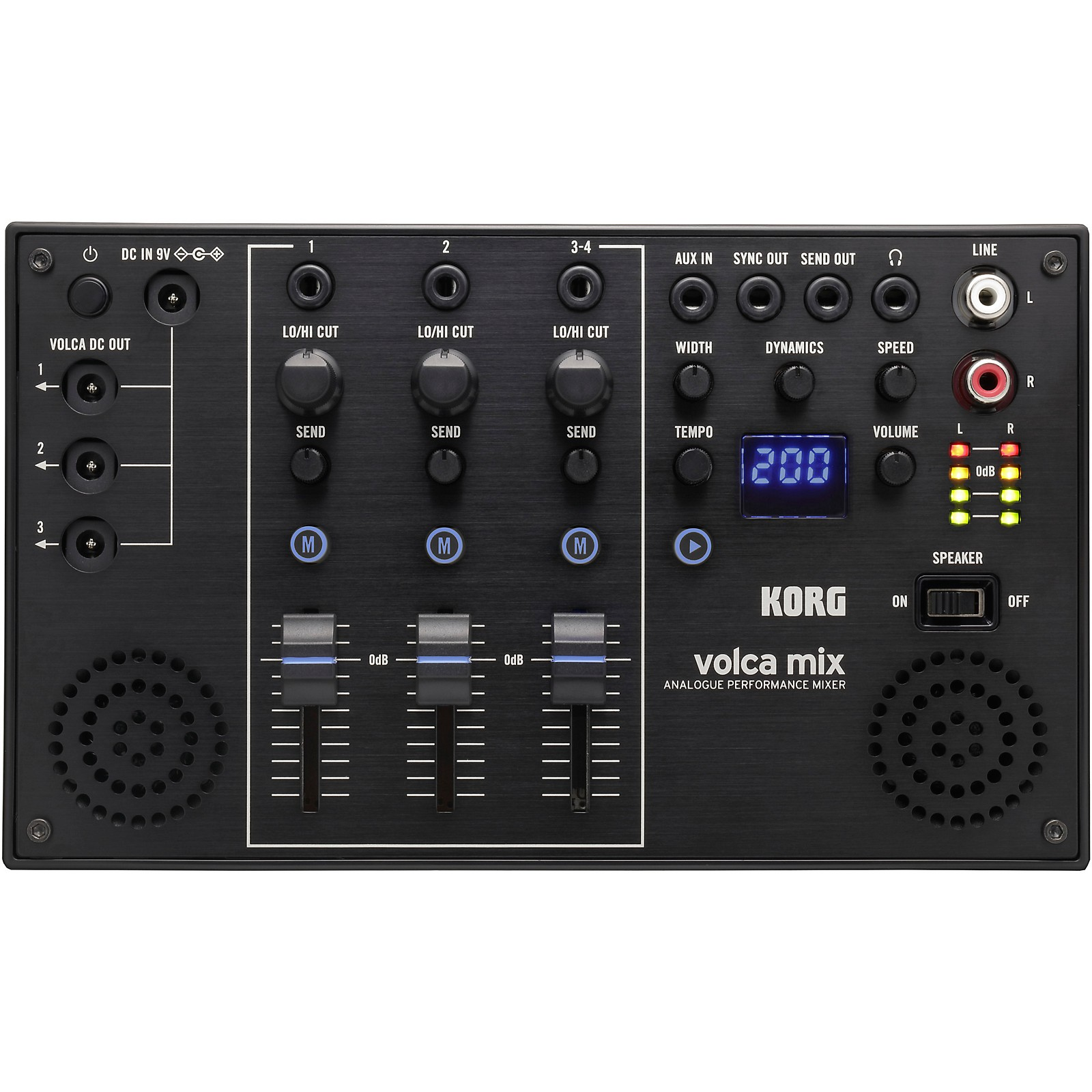 Korg Volca Mix Analog Performance Mixer