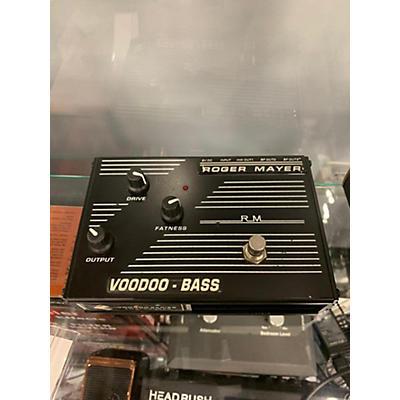 Roger Mayer Voodoo Bass Bass Effect Pedal