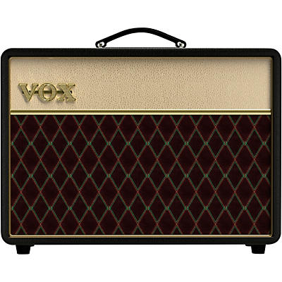 Vox Vox AC10C1 Limited Black & Tan 10W 1x10 Tube Guitar Combo Amp With Creamback and JJ Tubes