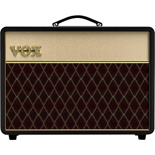 Vox Vox AC10C1 Limited Black & Tan 10W 1x10 Tube Guitar Combo Amp With Creamback and JJ Tubes Tan