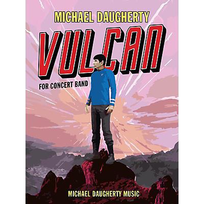 Michael Daugherty Music Vulcan (Full Score) Concert Band Level 4 Composed by Michael Daugherty