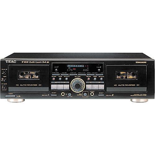 TEAC W-860R Double Auto-Reverse Cassette Deck
