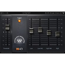 Waves W43 Noise Reduction Plugin Native/TDM/SG