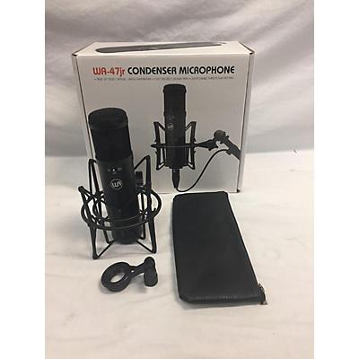 Warm Audio WA-47jr-BLK FET Black Condenser Microphone