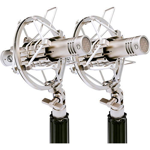 Warm Audio WA-84 Small Diaphragm Condenser Microphone Stereo Pair Nickel