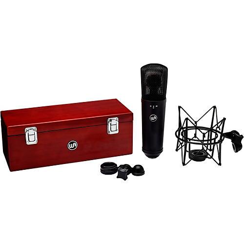 Warm Audio WA-87 R2 Condenser Microphone Condition 1 - Mint Black