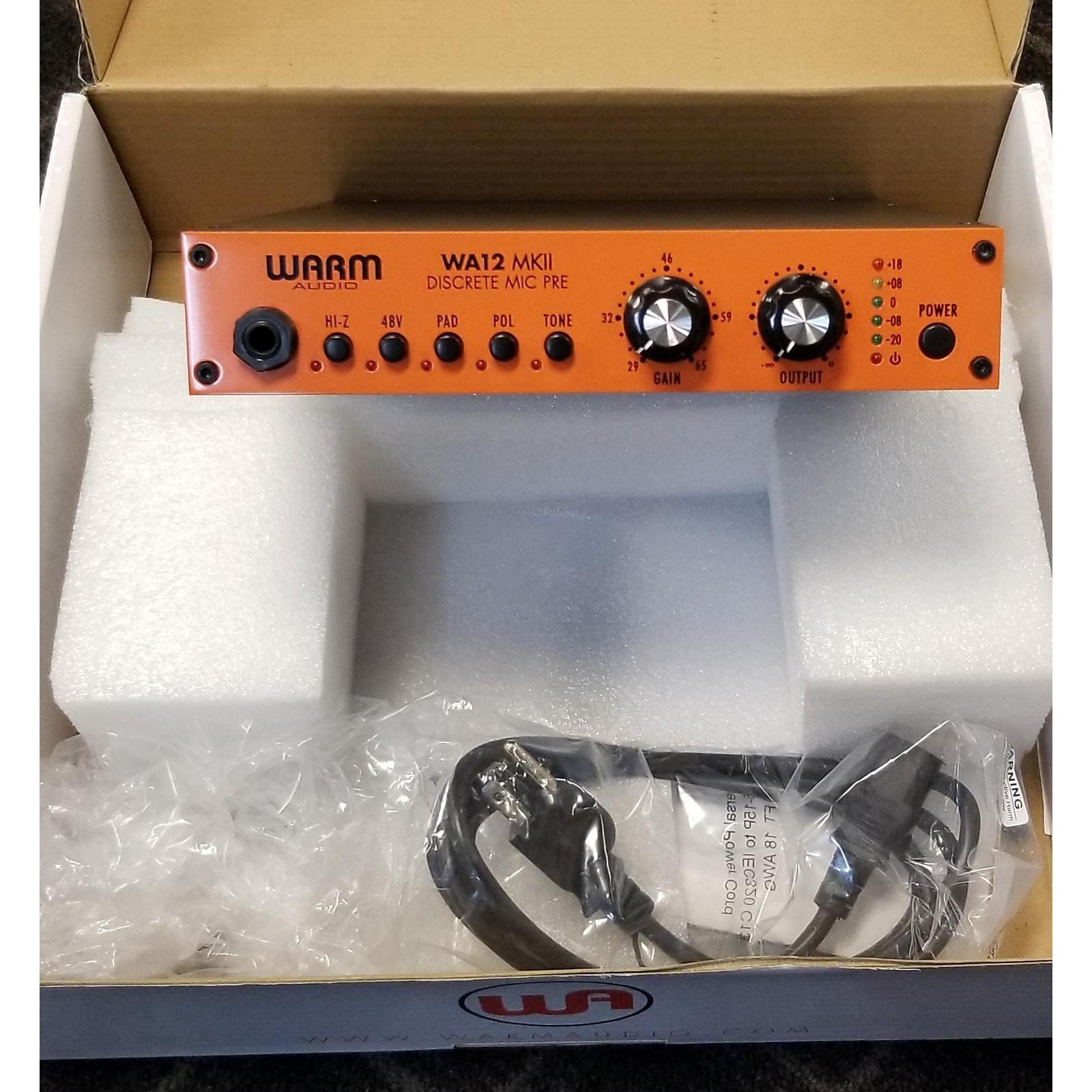 Warm Audio WA12mkii Microphone Preamp