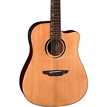 Open BoxLuna Guitars WABI DC 12 Sabi 12-String Dreadnought Acoustic-Electric Guitar