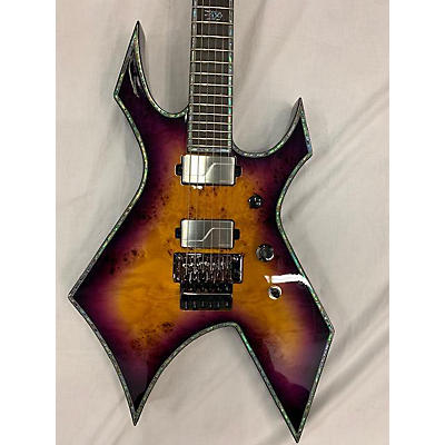B.C. Rich WARLOCK EXTREME EXOTIC FLOYD ROSE Solid Body Electric Guitar