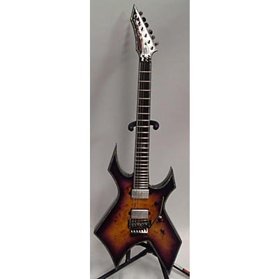 B.C. Rich WARLOCK EXTREME EXOTIC FLOYD ROSE Solid Body Electric Guitar